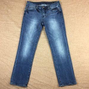 Dear John Playback Cuffed Crop Straight Leg Jeans